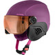 Alpina Carat LE Visor HM Hjelm violet